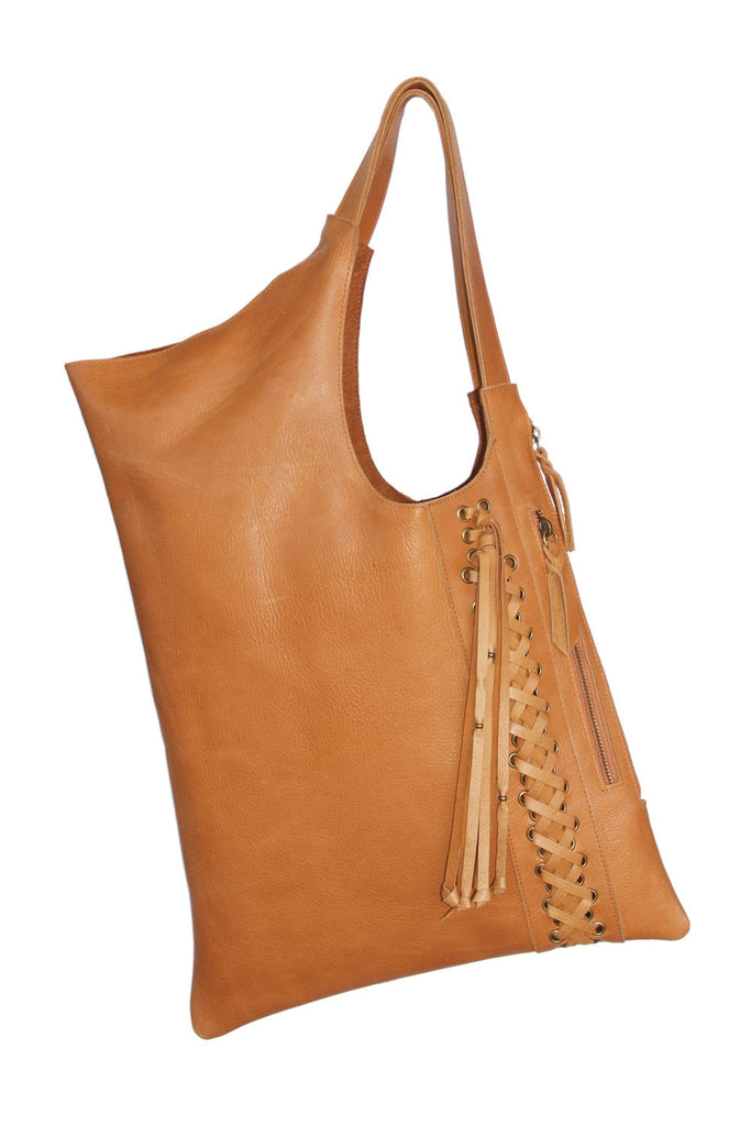 Meg Shoulder Bag in Leather