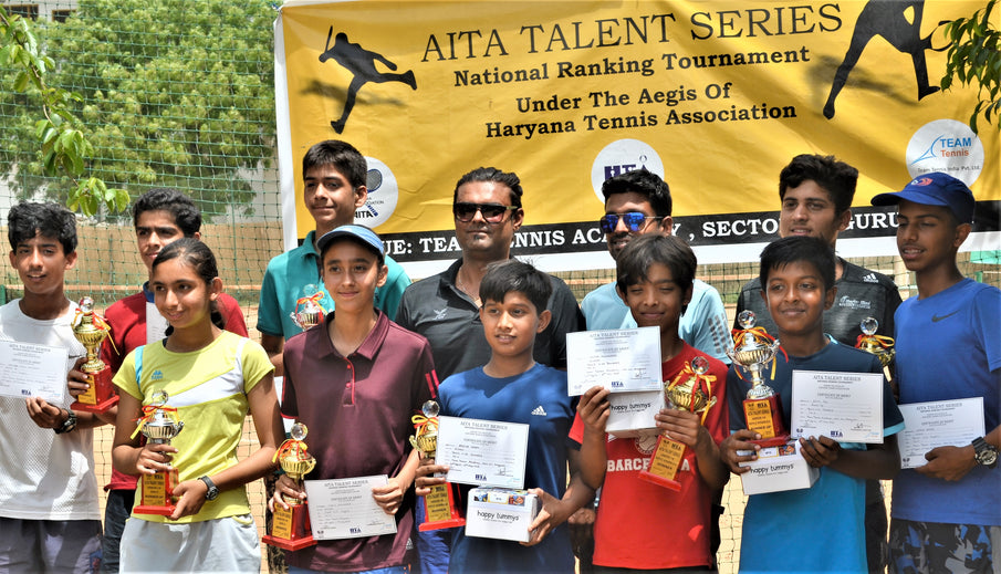 Truly inspired by these future tennis superstars!