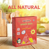 Tropical Pineapple All Natural Snack Bars (Pack of 6 Bars)