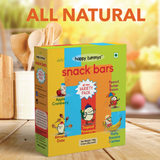Mighty Variety Pack | 5 Flavors | 6 Bars | 180 g | (Almond Date, Peanut Butter Raisin, Apple Cranberry, Tropical Pineapple, Malty Banana) | All Natural Snack Bars | Toddlers and Kids Snack