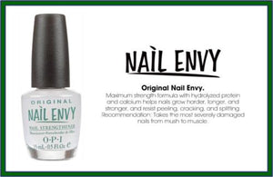 NEW ~ LOT X 2 OPI Nail ENVY Strengthener ORIGINAL .5oz T80 FULL Size AUTHENTIC