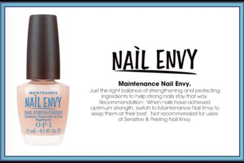 NEW OPI NAIL ENVY Nail Strengthener Healthy Maintenance Renewal FULL AUTHENTIC!