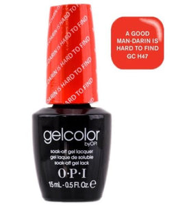 NEW ~ GELCOLOR OPI Soak-off Gel Color *A Good Man-Darin Is Hard To Find H47