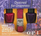 OPI Destined For Grapeness Nail Polish Set MIAMI BEET & VANT TO BITE MY NECK