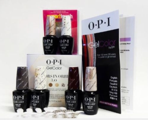 NEW~OPI Gel color Kit Starlight 2015 - ORBIT #3 Collection Set of 6 colors 0.5