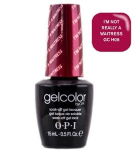 NEW ~ GELCOLOR OPI Soak-off Gel Color *I'm Really Not A Waitress H08 AUTHENTIC