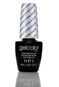NEW~ OPI GelColor Gel Polish💅🏻 GC G07 DESPERATELY SEEKING SEQUINS .5oz UV LED