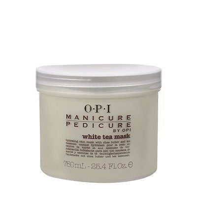 NEW Sealed OPI Manicure-Pedicure WHITE TEA MASK BIG Size 25.4oz Authentic!