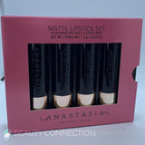 Anastasia Beverly Hills 4-Piece Pinks & Berries Mini Matte Lipstick Set