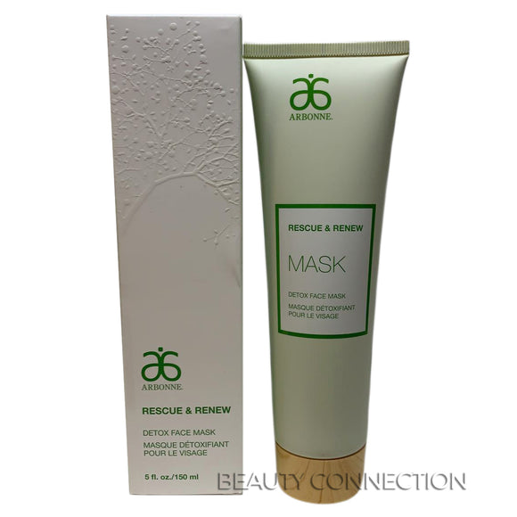 Arbonne Rescue & Renew Mask Detox Face Mask 5 oz