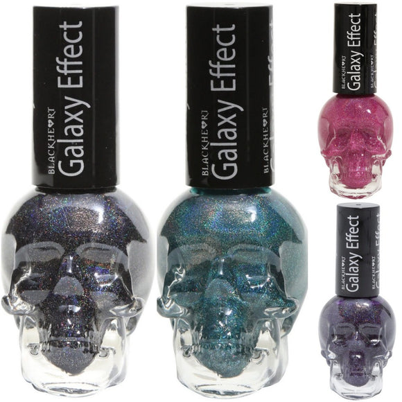 Blackheart Beauty Galaxy Effect Nail Polish Color .4oz