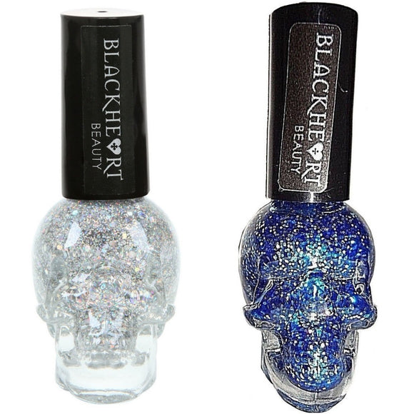 Blackheart Beauty Glitter Nail Polish Color .4oz