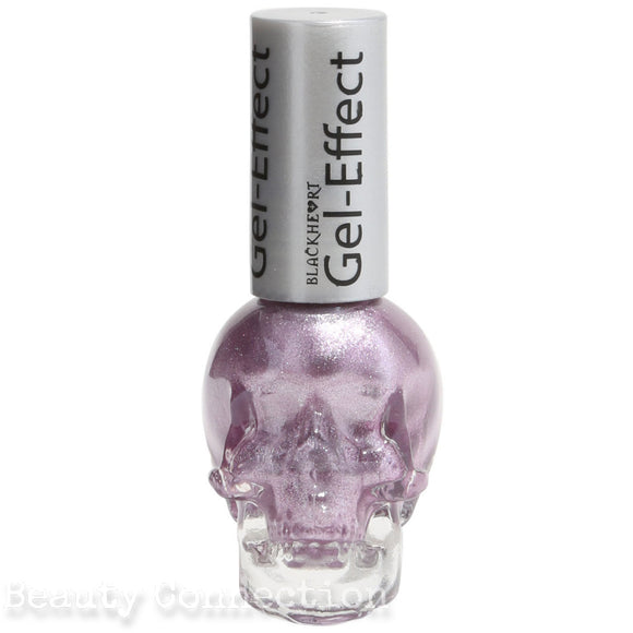 Blackheart Beauty Lilac Shimmer Gel Effect Nail Polish Color .4oz