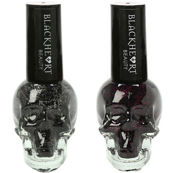 Blackheart Beauty Sparkle Nail Polish Color .4oz