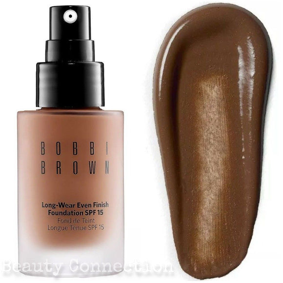 Bobbi Brown Long-Wear Even Finish Foundation SPF 15 Warm Walnut 1oz