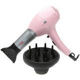 CHI Pro Pink Ceramic Professional Low EMF Hair Dryer with Diffuser