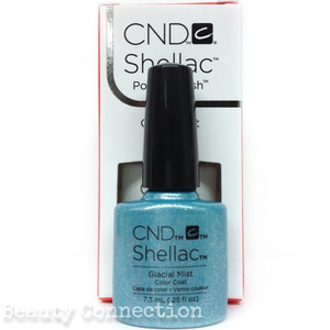 CND Shellac UV Gel Color Nail Polish - Glacial Mist 0.25oz