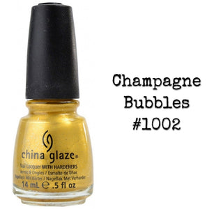 China Glaze Nail Lacquer Polish with Hardeners .5oz