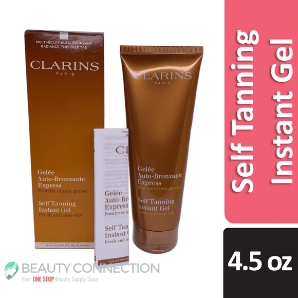 Clarins Paris Self Tanning Instant Gel 4.5 oz