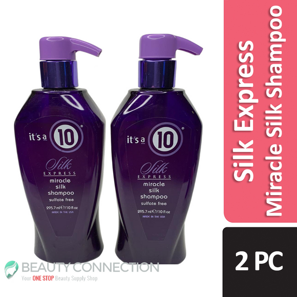 It's a 10 Silk Express Miracle Silk Shampoo Sulfate-Free 10 oz - 2-Pack