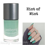 Jamberry Nail Lacquer Polish .34oz - Hint of Mint