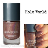 Jamberry Nail Lacquer Polish .34oz - Holo World