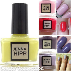 Lot of 5 Jenna Hipp Mini Nail Lacquer Polish 5ml