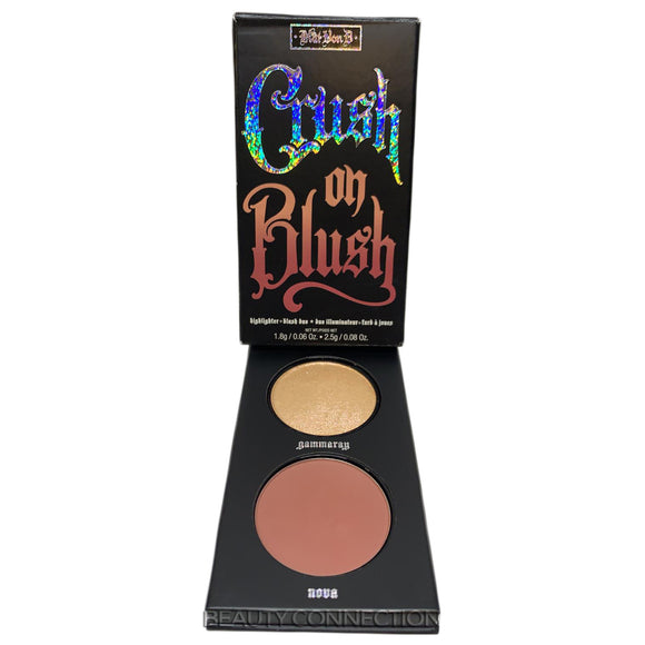 Kat Von D Kitten Mini Crush on Blush - Highlighter + Blush Duo Gammaray & Nova