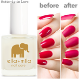 Ella+Mila Nail Care Polish Matte-ly in Love