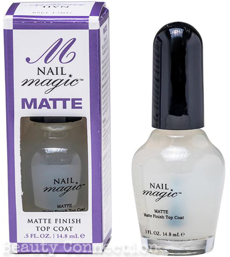 Nail Magic MATTE - Matte Finish Top Coat Nail Polish .5oz