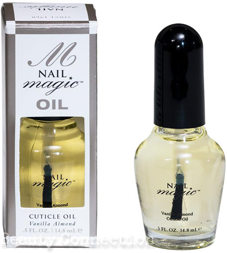 Nail Magic OIL - Vanilla Almond Cuticle Oil .5oz