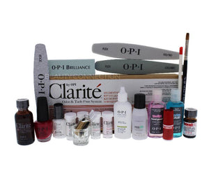 NEW OPI Clarite STUDENT KIT Acrylic Nail Liquid Powder Kit - ODOR & TACK FREE
