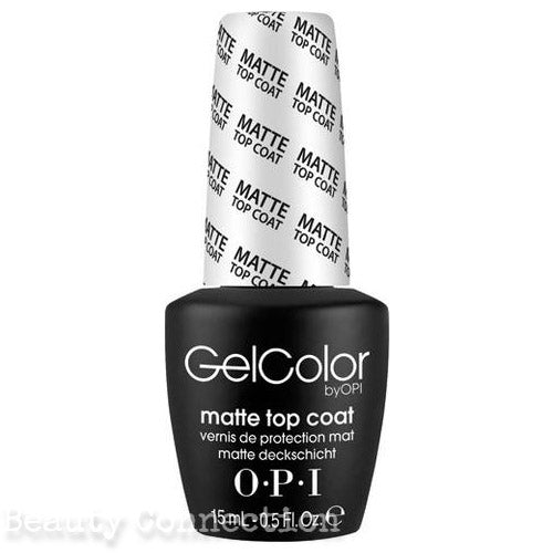 OPI Soak off Gel Color MATTE TOP COAT Full Size 0.5 oz GC 031