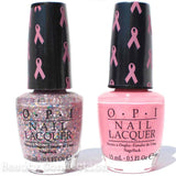 OPI Pink of Hearts 2013 Nail Polish Duo & Art Decals Set