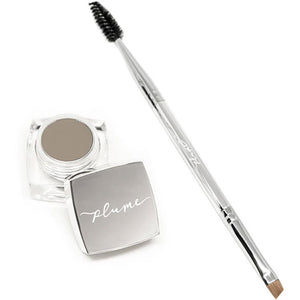 Plume Nourish & Define Brow Pomade with Brush in Golden Silk 0.14oz