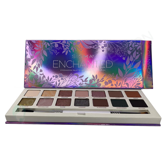 Sigma Beauty Enchanted 14 Color Eyeshadow Palette