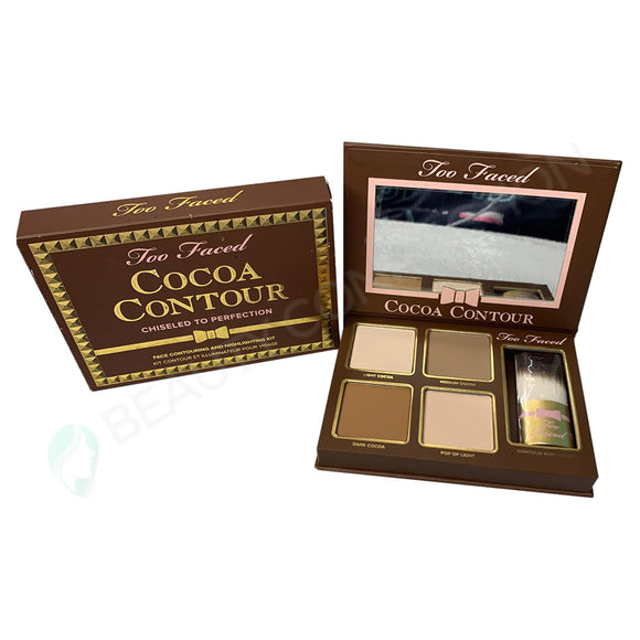 Too Faced Cocoa Contour Chiseled to Perfection in Light to Medium Contouring and Highlighting Kit