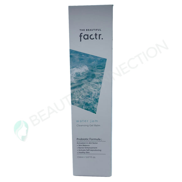 The Beautiful Factr Water Jam Cleansing Gel Balm Probiotic Formula 5.07 oz