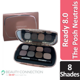bareMinerals The Posh Neutrals Ready 8.0 Eyeshadow Palette 0.24 oz