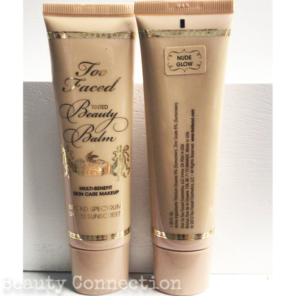 Too Faced Tinted BB Beauty Balm Multi Benefit Skin Care Makeup SPF20 1.5oz - Nude Glow