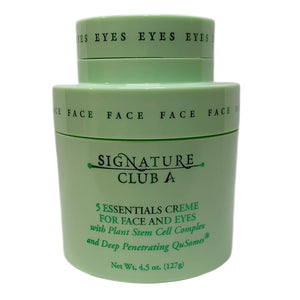 Signature Club A 5 Essentials Creme for Face and Eyes 4.5 oz