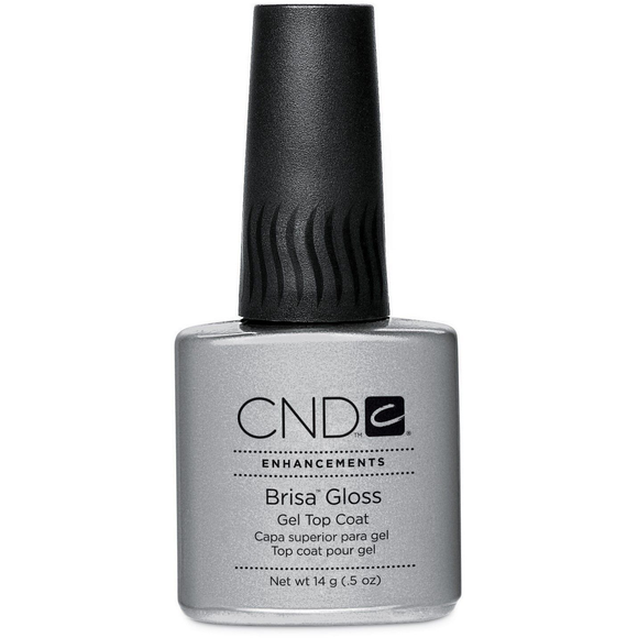 CND Enhancements Brisa Gloss Gel Nail Polish Top Coat 0.5oz