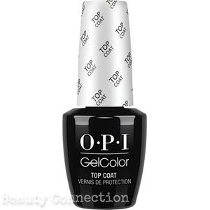 OPI Soak off Gel Color TOP COAT Full Size 0.5oz