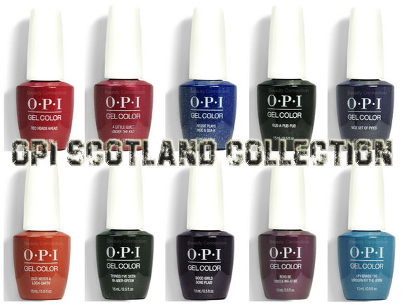 OPI Scotland Collection Fall 2019 GelColor Soak-Off Gel Nail Polish