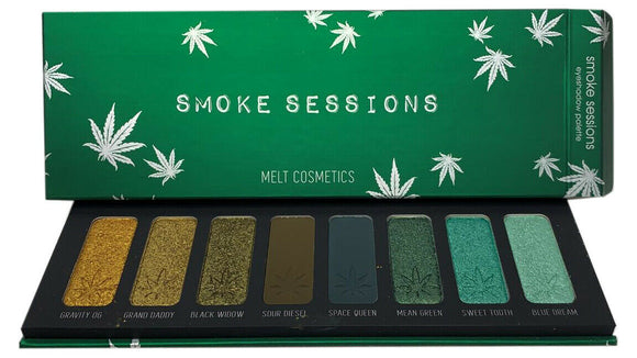 Melt Cosmetics SMOKE SESSIONS 8-Color Eyeshadow Palette New in Box Authentic