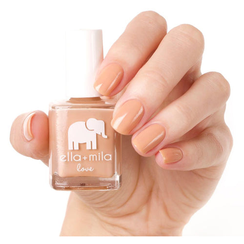 Ella+Mila Nail Lacquer Polish LOVE COLLECTION - SANDY TOES .45oz/13.3ml