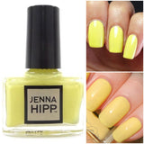 Jenna Hipp Mini Nail Polish - Say Yellow To My Little Friend