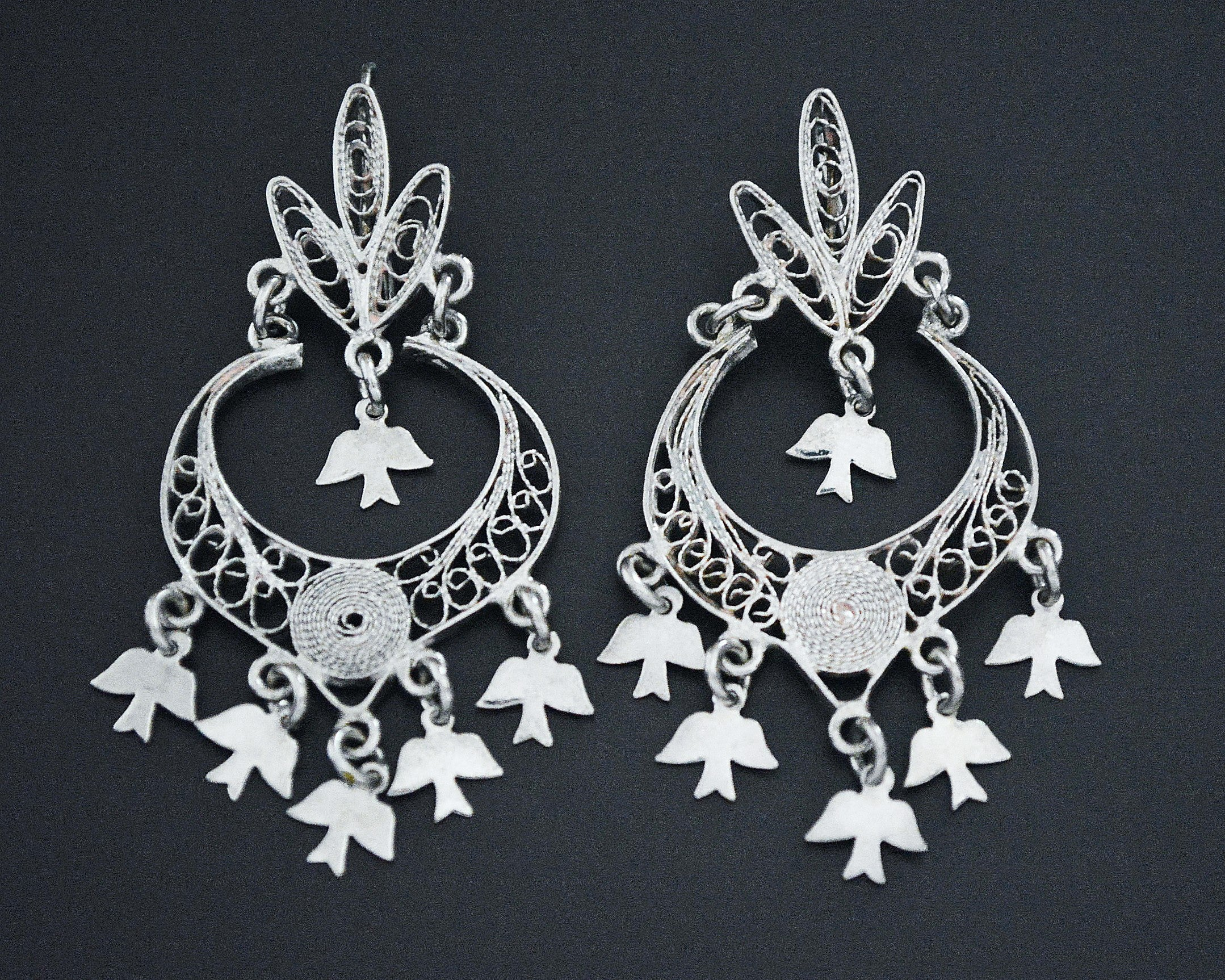 Mexican Oaxacan Filigree Earrings