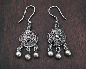 Egyptian Earrings with Bells