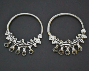 Old Tunisian Hoop Earrings